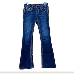 Rock revival Betty dark wash bootcut denim jeans